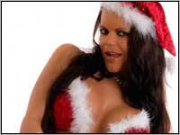 Camsex Show - Sexy Girl als Weihnachtsengel