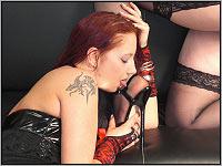 Camsex Show - BDSM mit Dominas