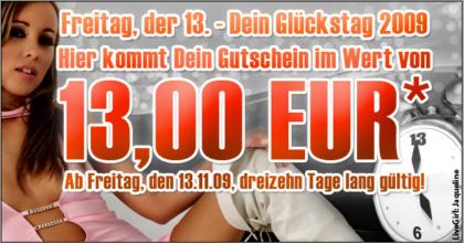 Zum 13 Euro - Gutschein für die Livecams