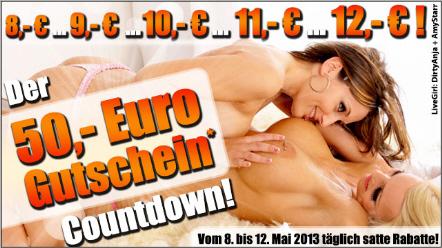 50 Euro Camsex - Rabatt