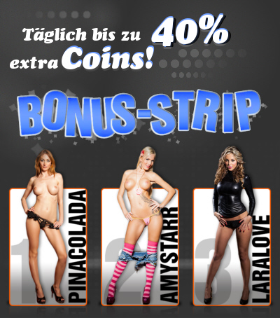 Camsex BonusCoins-Aktion