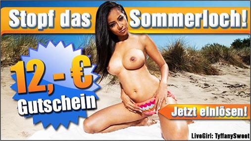 Sommer - Camsex-Gutschein
