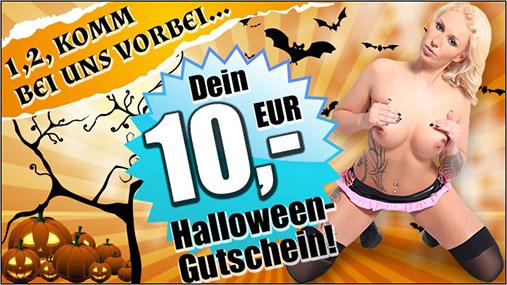 Zum Halloween - Gutschein für die Livecams